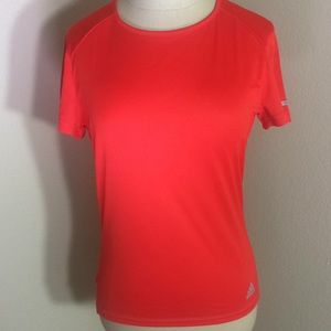 Adidas Running T-Shirt Short Sleeve Red